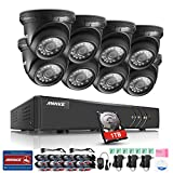 Annke Complete 8CH 1080P Lite Surveillance DVR with (8) HD 720P Outdoor Fixed Dome Cameras CCTV Security Camera System, IP66 Weatherproof, 66ft Super Night Vision, Remote Access, 1TB HDD Included For Sale