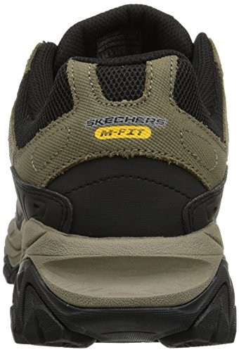 Skechers Sport ¨ Afterburn Grà ve Memory Foam Lace Sneaker up - Pebble/Black
