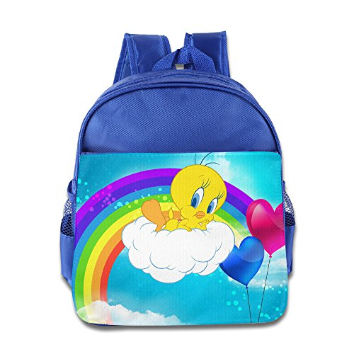 Toddler Kids Tweety Bird School Backpack Cool Children School Bags RoyalBlue - Kids Tweety Bird