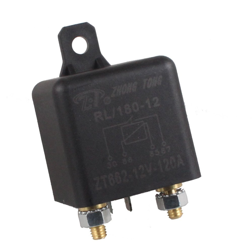 Etopars/™ 12V 100A Heavy Duty Split Charge ON//OFF Relay Car Vehicle Truck Motor RL180