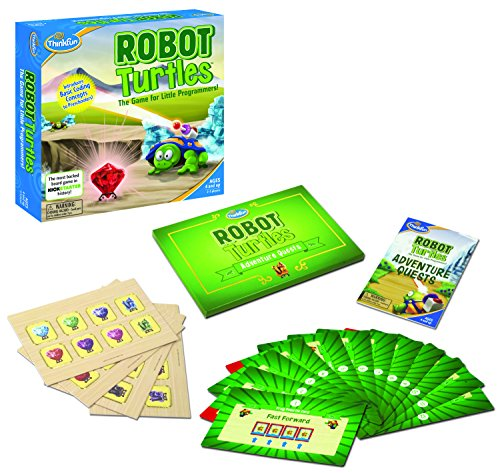 Think Fun Robot Turtles with Adventure Quest Coding Board Game
