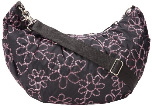 LeSportsac Veronica Hobo,Joyful Emb,One Size, Bags Central