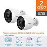 Samsung SNH-V6430BN SmartCam Full HD PoE Outdoor Camera Double Pack