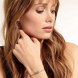 Thomas Sabo ladies-bracelet Little Secret butterfly 925 Sterling silver blackened LS082-640-7-L20v