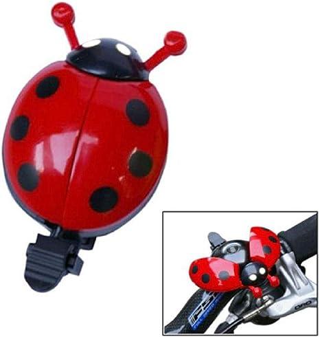 Divertido Ladybug Bike Bell MTB Ciclismo Advertencia de Seguridad ...