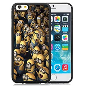 New Fashion Custom Designed Skin Case For iPhone 6 4.7 Inch TPU Phone Case With Despicable Me Minions Phone Case Cover