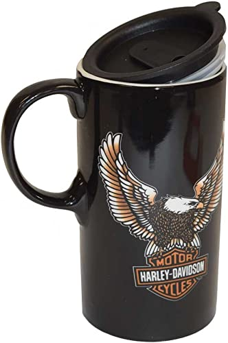 Harley-Davidson Travel Latte Mug, Bar & Shield Tall Boy