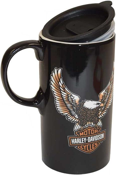 Harley-Davidson Travel Latte Mug, Bar & Shield Eagle Tall Boy, 21 oz. 3TBT4907