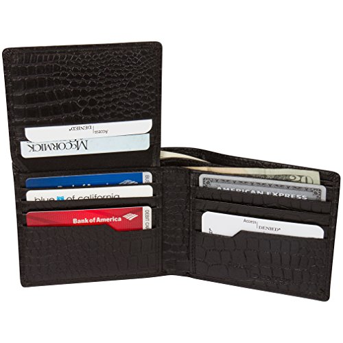 Access Denied Blocking Wallet Leather