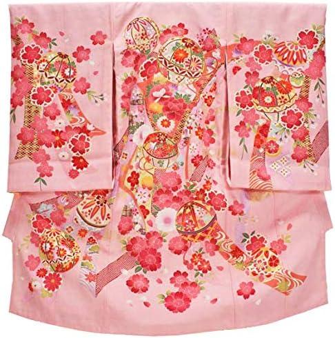 女の子 お宮参り着物 kogi05 ピンク