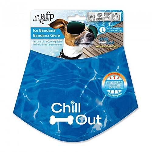 Best dog cooling bandana - All for Paws Chill Out Ice Bandana, Large