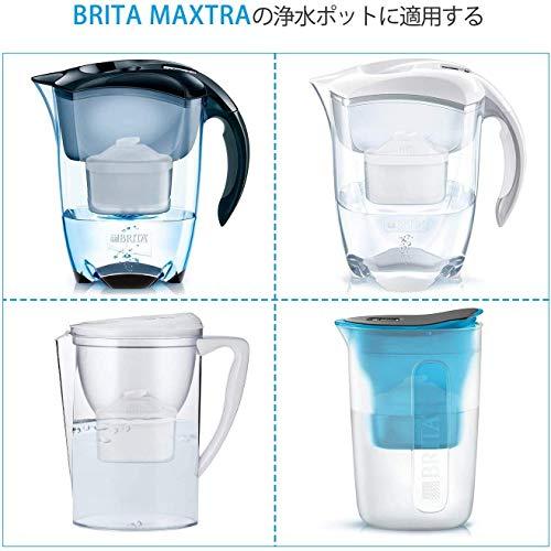 ポット型 浄水器用 カートリッジ【ブリタ マクストラ BRITA MAXTRA 】互換用フィルターカートリッジ 日本仕様 6個セット