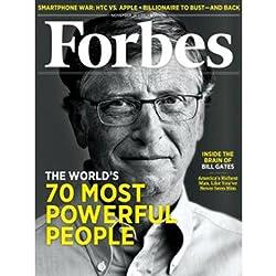 Forbes, November 7, 2011