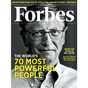 Forbes, November 7, 2011 Periodical
