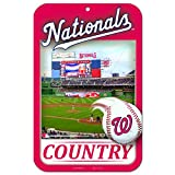 11X17 Country Plastic Street Sign MLB Washington Nationals