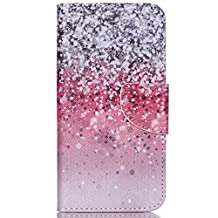 Acer Liquid Jade Z Case,Huamecl Embossed Pattern PU Leather,Wallet Flip Magnetic Detachable Close Lock With Stand up Credit Card Holder Leather Case Cover Holster for Acer Liquid Jade Z(Starry sky)