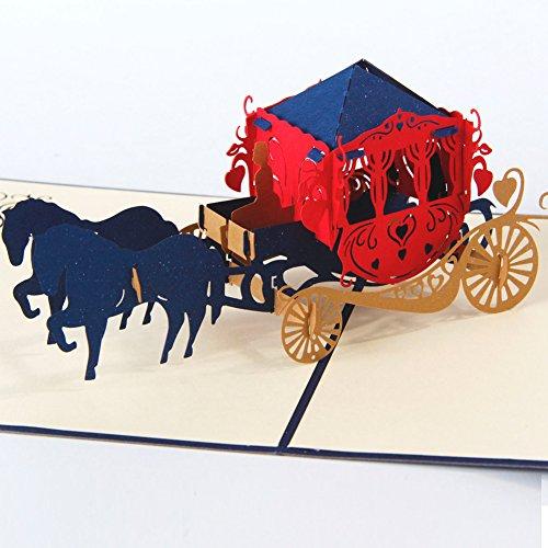 HUNGER Handmade Carriage Birthday Papercraft