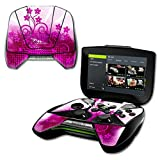 MightySkins Protective Vinyl Skin Decal for NVIDIA Shield Portable cover wrap skins sticker Pink Growth