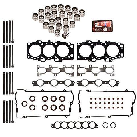 Domestic Gaskets HSHBLF5029 Lifter Replacement Kit fits 01-03 Hyundai Kia V6 2.7 DOHC 24V G6BA Head Gasket Set, Head Bolts, - Dohc 24v Head Gasket