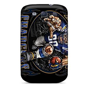 Galaxy S3 Cover Case - Eco-friendly Packaging(san Diego Chargers)