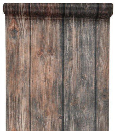 Chemin de table original motif bois