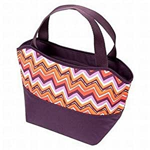 Amazon Com Rachael Ray Insulated Lunch Tote Purple