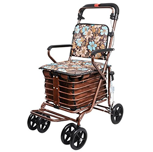portable chair with wheels - 4