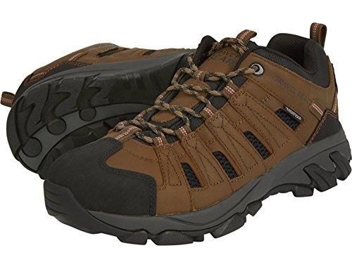 Gravel Gear - Botas Impermeables Para Hombre, Bajas, Oxford, Para Excursionistas - Marrón, Talla 11 1/2