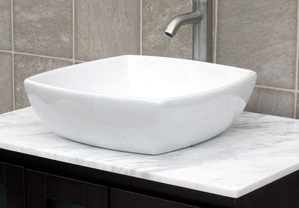 Bathroom Ceramic Vessel Porcelain Sink Pop Up Drain 7068 **free Pop Up Drain**
