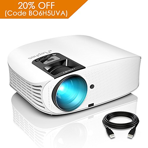 ELEPHAS 1080P LCD Video Projector Support...