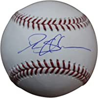 $99 » Deion Sanders Autographed/Signed Atlanta Braves OML Baseball BAS