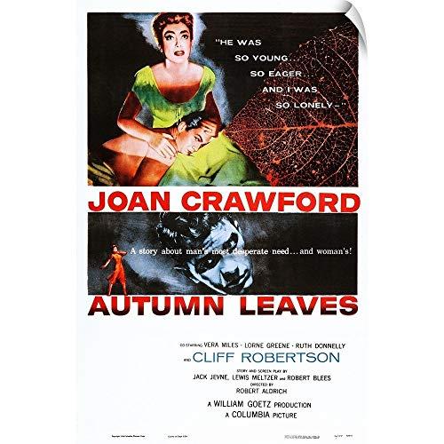 CANVAS ON DEMAND Wall Peel Wall Art Print Entitled Autumn Leaves - Leaves Autumn Joan Crawford