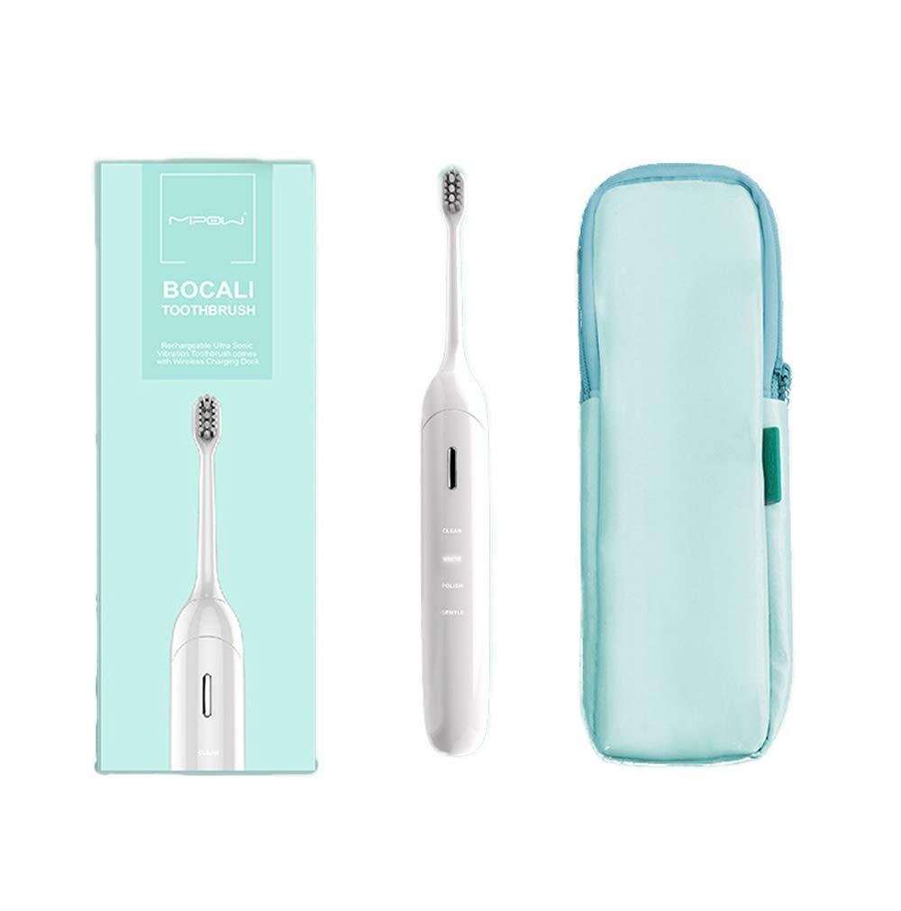 電動歯ブラシ大人充電式音波振動防水自動スマート歯ブラシホワイトニング歯柔らかい髪 B07RNQV5JX