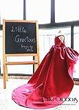 Charlotte Dress Long Tail, Sequins Back, Flower Girl Dress LG026