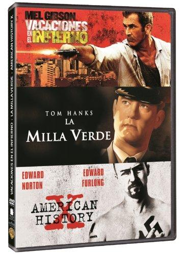 Pack: Vacaciones En El Infierno + American History X + La Milla Verde (Import Movie) (European Format - Zone 2) B