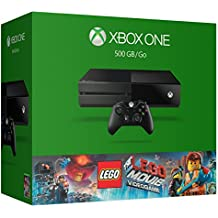 Xbox One 500GB Console - The LEGO Movie Videogame Bundle