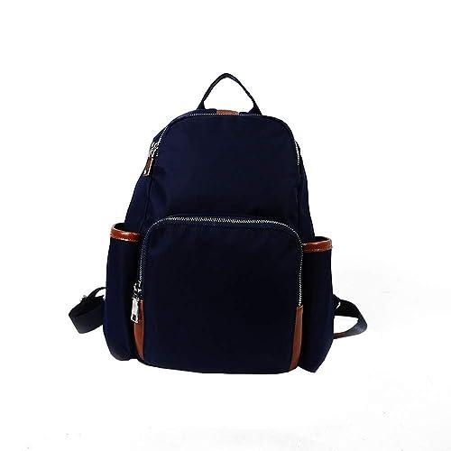 6019d17fc4a43 Ansenesna Rucksäcke Damen Schwarz Groß Elegant Taschen Outdoor Reise  Trekking Freizeit Backpack Für Mädchen Teenager (