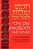 img - for The Five Megilloth and Jonah: A New Translation (English and Hebrew Edition) book / textbook / text book