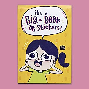 Alicia Souza Big Book of Stickers | 12 Pages of Stickers | Approx 420 Stickers Total | for Laptops, Notebooks