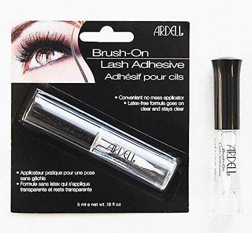 Ardell Fashion (ARDELL Brush-On Lash Adhesive size: 0.18 oz/ 5 ml each)