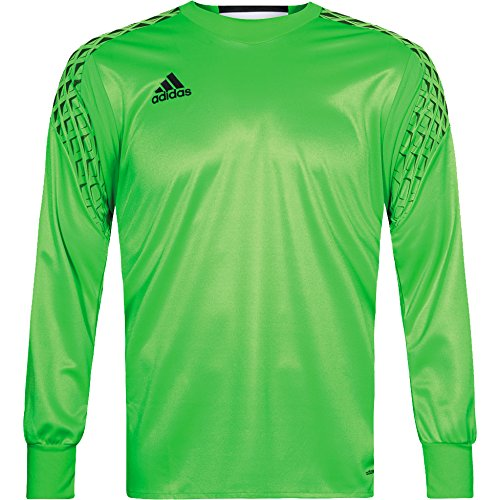 adidas Mens ONORE Long Sleeve Goalkeeper Jersey For Soccer Solar (Graphic Goalkeeping Jersey)