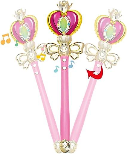 Scettro Giocattolo Bambina Luci Suoni Fata Winx Bacchetta Sailor Moon Frozen