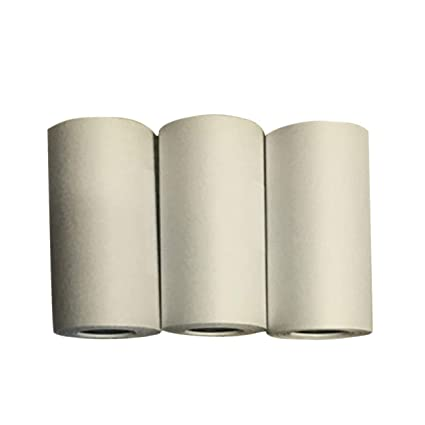 MachinYeser Papel adhesivo imprimible duradero de 3 rollos Papel ...