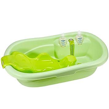 Bebé bañera recién Nacido Puede Sentarse Lie bebé bañera Grande ...