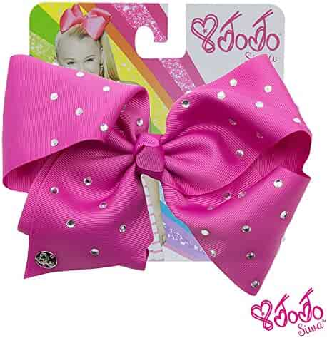 JoJo Siwa Large Cheer Hair Bow (Berry)