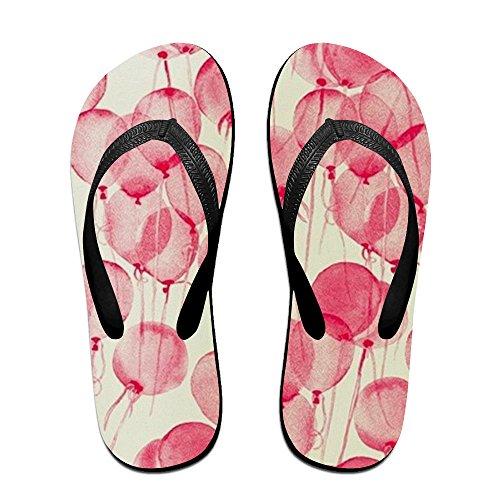 Flops Platform Sandals Print Slippers For The Beach (Pink Slippers Bat)