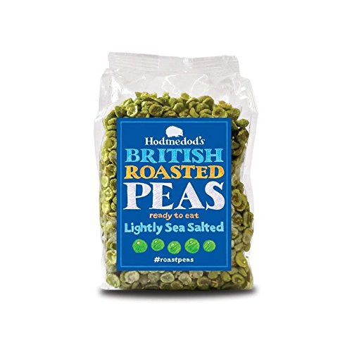 Hodmedods Roasted Peas Light Sea Salt 300g - Pack of 4 by HODMEDOD'S