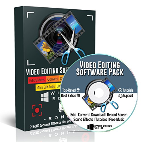 Professional Music Mixing Software (Video Editing Software 2018 Pro Pack for Windows PC: Best Digital Editor, Converter, Screen Recorder, YouTube Downloader, Audio Mixer | Professional but Easy for Beginners)