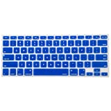 Mosiso Keyboard Cover for Macbook Pro 13 Inch, 15 Inch (with or without Retina Display, 2015 or Older Version) Macbook Air 13 Inch, Royal Blue