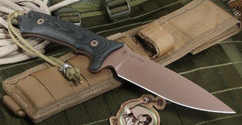 Harsey Hunter (Spartan Blades Harsey Hunter Fixed Blade Fighting Survival)